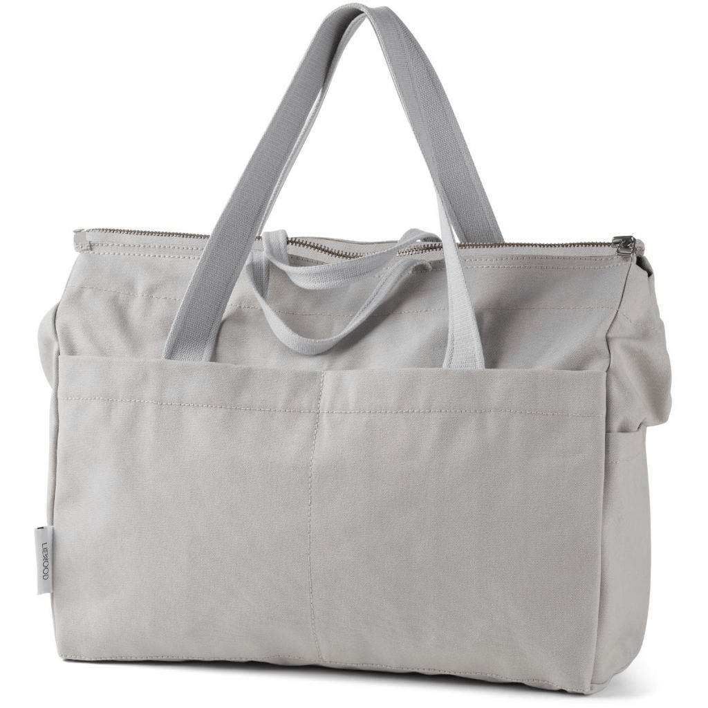 Image of   Liewood melvin mommy bag - dumbo grey