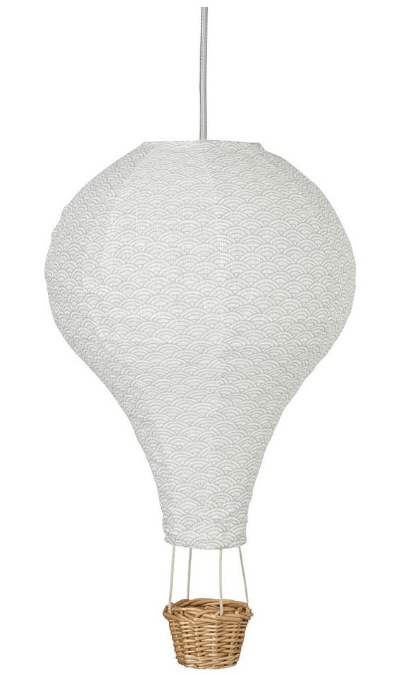 Cam Cam loftslampe hot air ballon grey wave