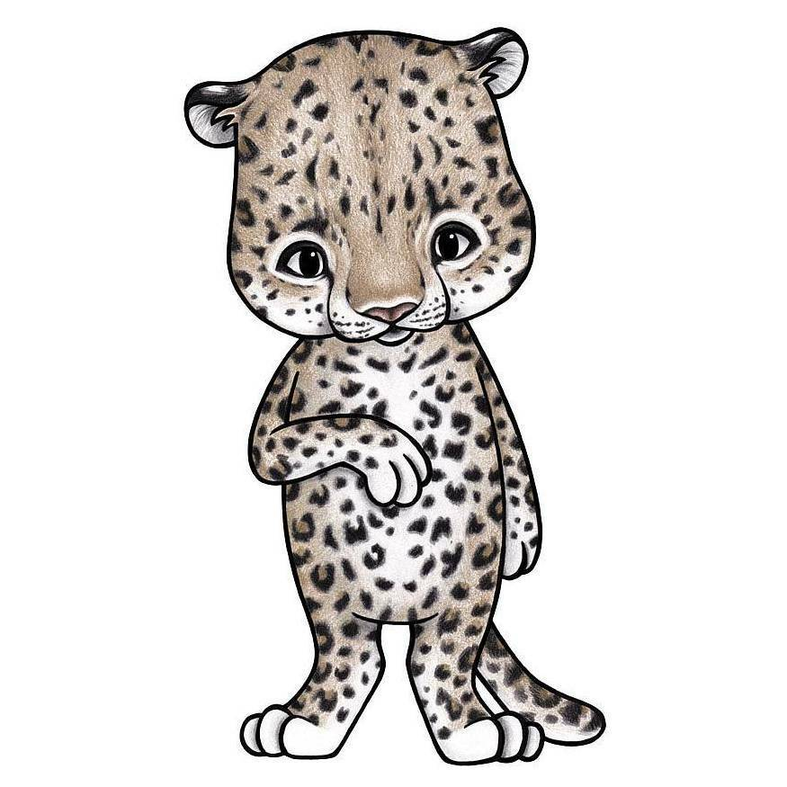Image of   Stickstay leoparden Lux