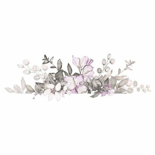 Image of   Thats Mine wallsticker blomsterbuket lille