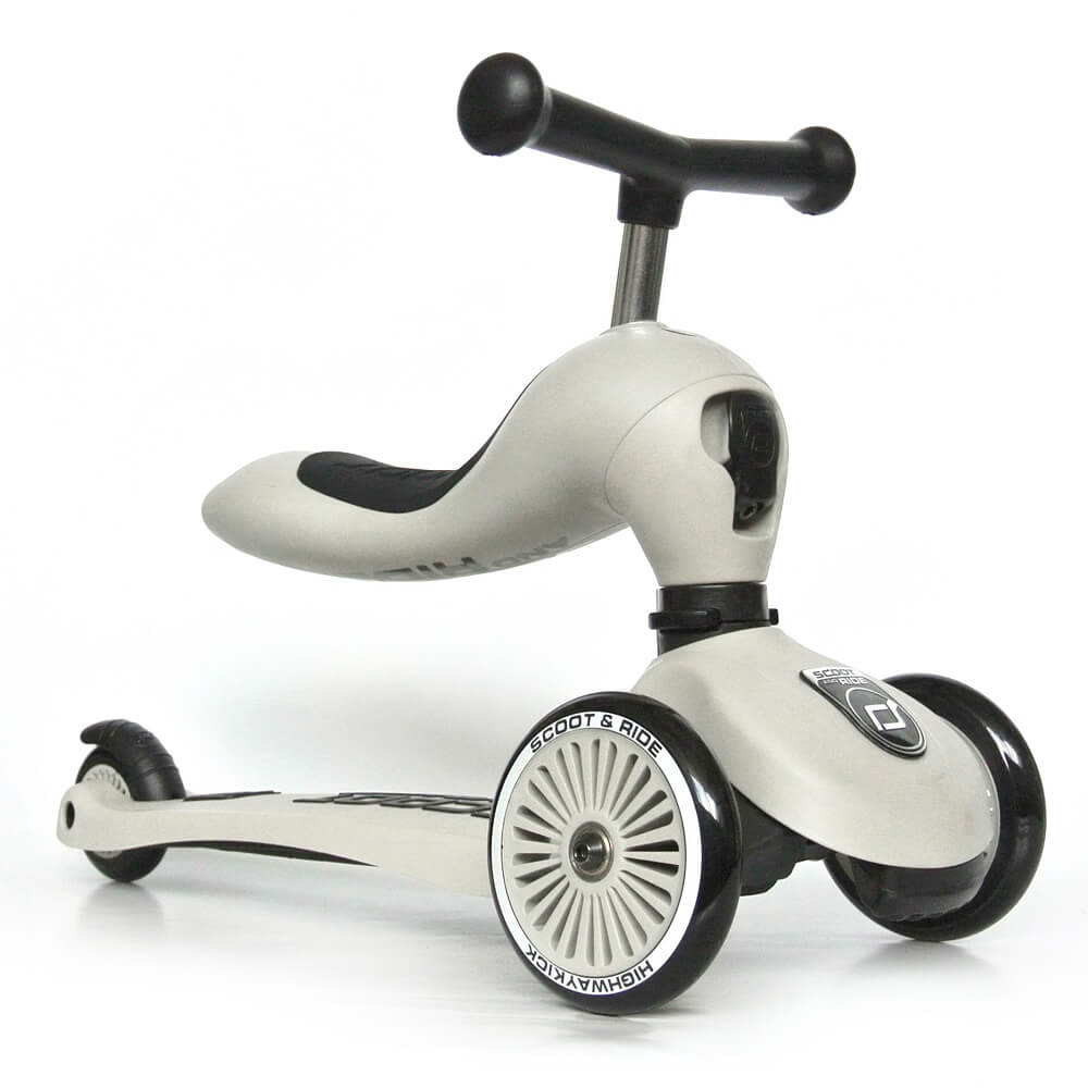 Image of   Scoot & Ride scooter/løbehjul - ash