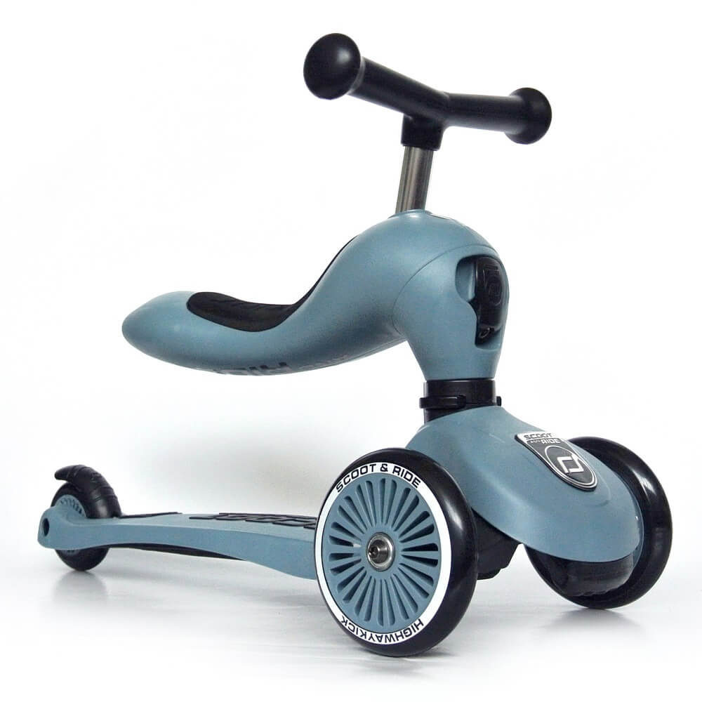 Image of   Scoot & Ride scooter/løbehjul - blå