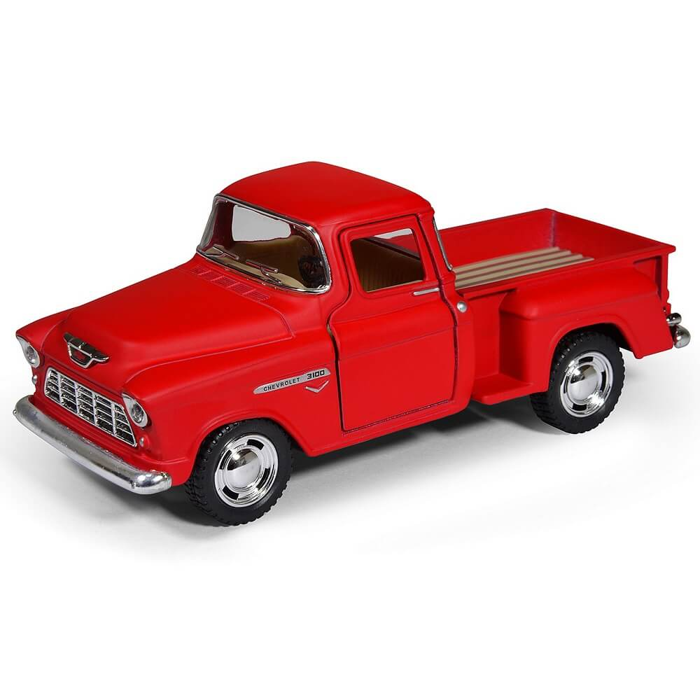 Image of   Magni Chevy stepside pick-up metalbil - rød