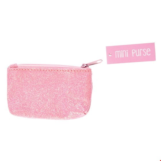 Image of   Rex London pink glimmer pung