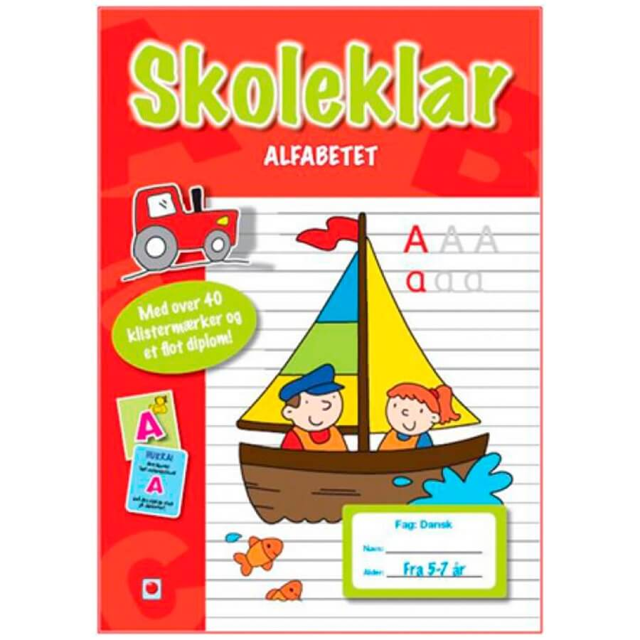 Image of   Bolden Skoleklar - Alfabetet