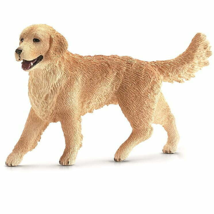 Image of   Schleich Golden Retriever hun hund