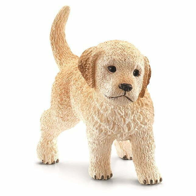 Image of   Schleich Golden Retriever hundehvalp