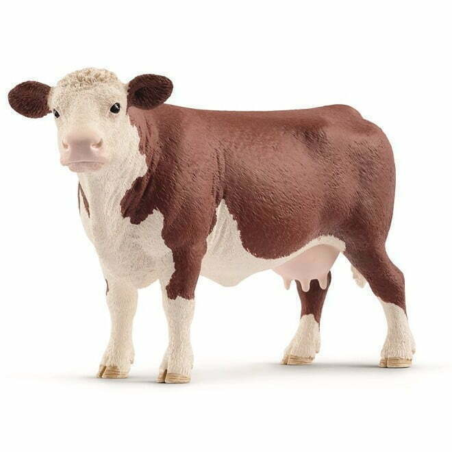 Image of   Schleich Hereford ko broget