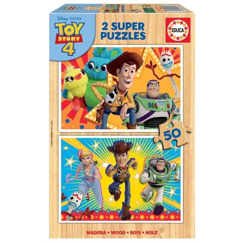 Image of   Educa puslespil 50 brk - Toy Story 4