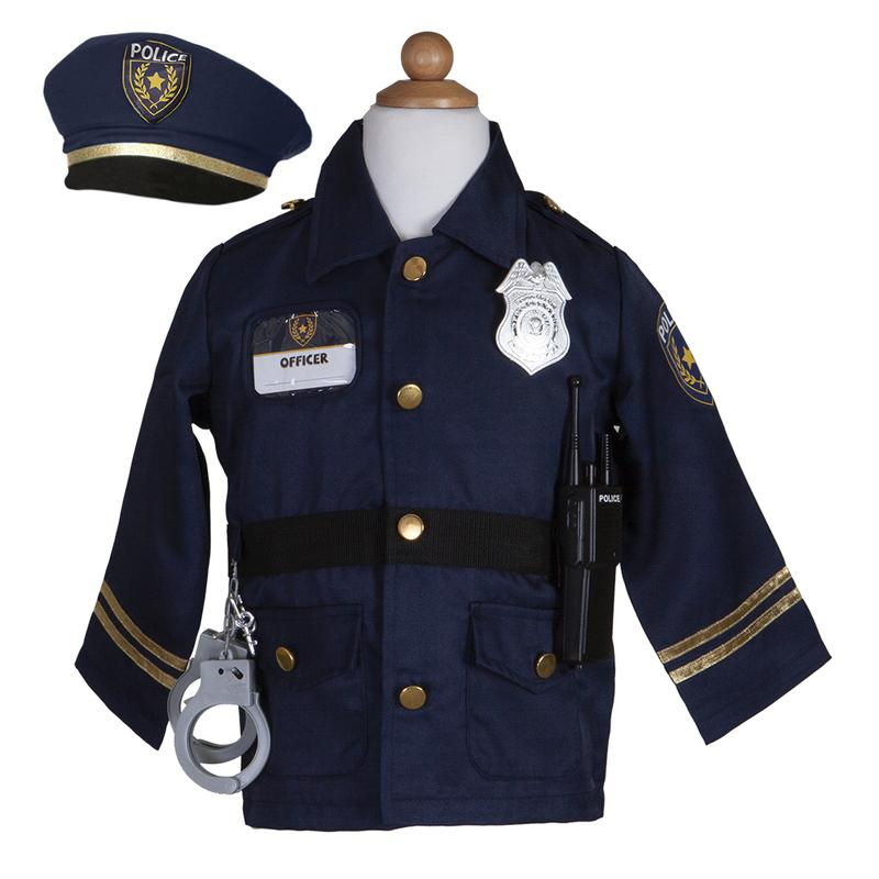 Image of   Great Pretenders politi uniform 5-6Y