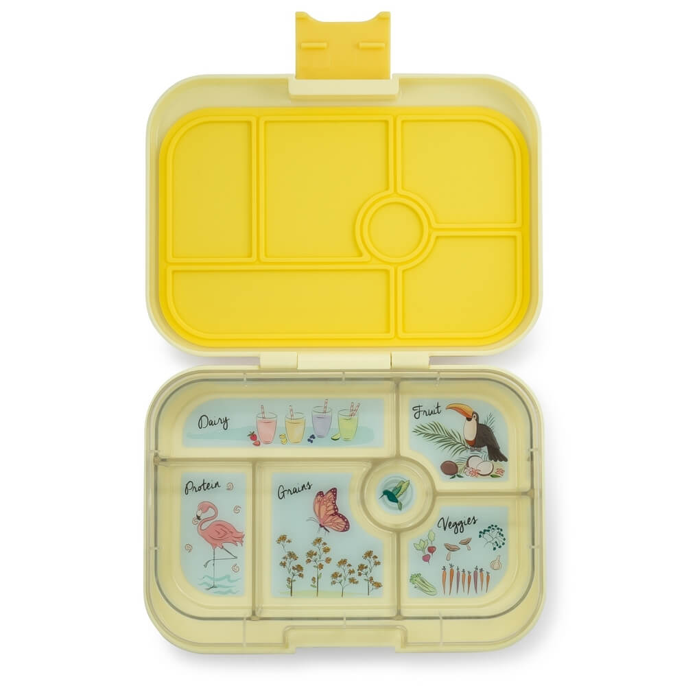 Image of   Yumbox madkasse klassisk 6 rum - sunburst yellow