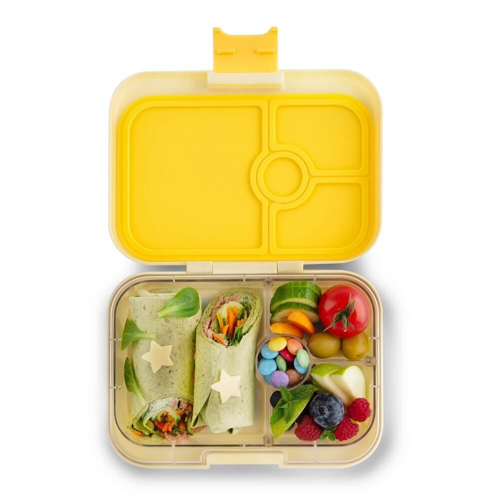 Image of   Yumbox madkasse panino 4 rum - sunburst yellow